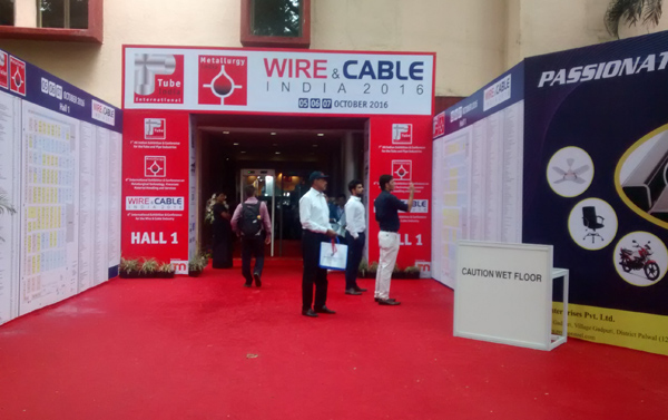 Wire Amp Cable India 2016 Tradeindia Trade Show