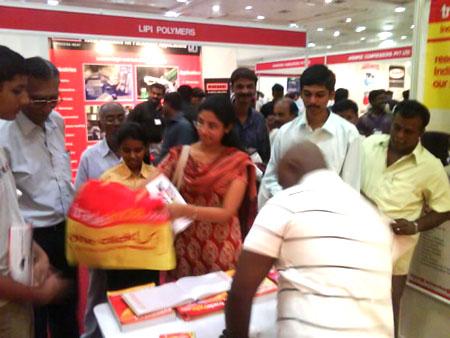 Venue: Chennai Trade Centre, Chennai, Tamil Nadu, India
