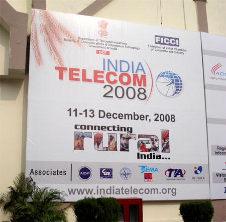 india telecom 2008 witnessed