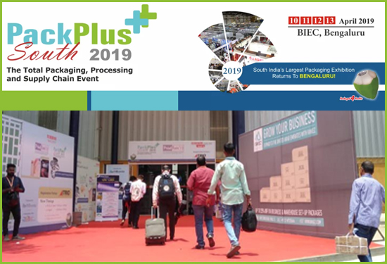 Packplus South 2019 - TradeIndia trade show participation at