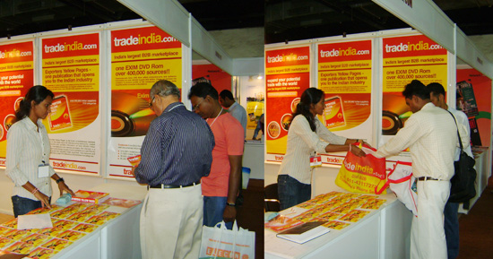 Roof India 2011 Tradeindia Trade Show Participation At