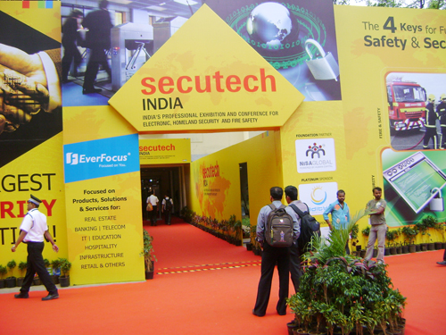 Secutech India 2012- TradeIndia trade show participation at